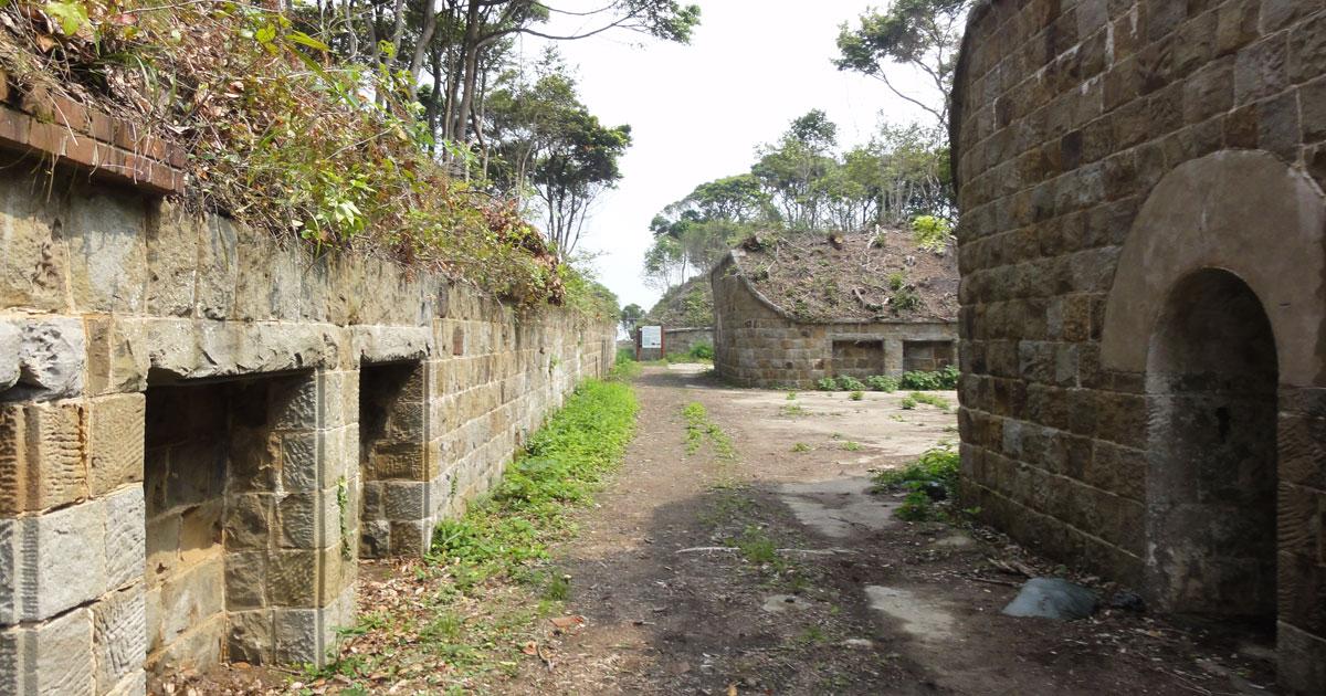 対馬の砲台